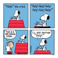 snoopy bad story