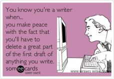 youre a writer when
