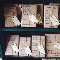 a selection from Elizabeth's Book Store Blind Date with  Book