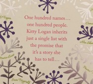 100 names blurb
