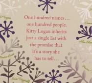 100 names blurb